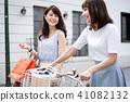 자전거 쇼핑 여행 41082132