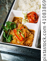 lunch in a bento box 41083869
