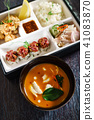 lunch in a bento box 41083870