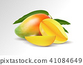 mango, vector, fruit 41084649