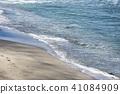 가나가와 현 가마쿠라 七里가浜의 물가 41084909