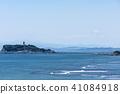 在初夏的江之島Aozora的湘南海岸 41084918
