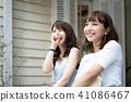 年轻女性旅行 41086467