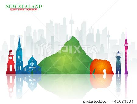 New Zeland Landmark Global Travel And Journey  41088334