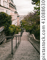 Street in Paris in the Montmartre area. 41088630