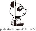 熊猫 吊坠 动物 41088672