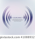 sound wave vector 41088932