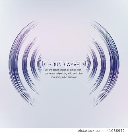 sound wave 41088932