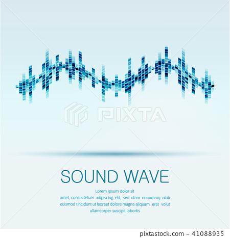 sound wave 41088935