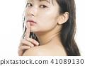 女性美容系列面部表情 41089130