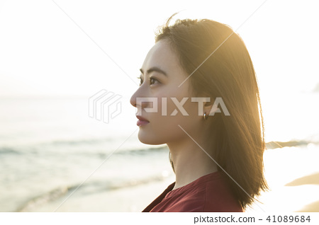 女性海岸 41089684