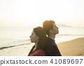 夫妇 一对 情侣 41089697