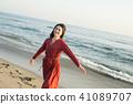 女性海岸 41089707