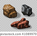 Rock stones collection 41089970