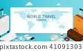 isometric online booking ,passport world map  41091303