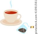 커피와 티백 41091561