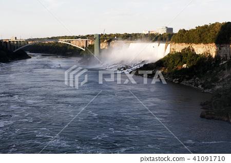 尼亞加拉瀑布,彩虹,霧,自然,尼亞加拉,美國 41091710