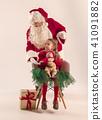 婴儿 宝宝 圣诞节 41091882