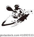 獨木舟 競賽 盪槳 41093533