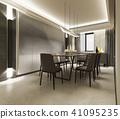 dining room interior 41095235