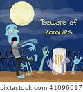 zombie monster dead 41096617