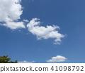 ท้องฟ้าเป็นสีฟ้า,ฤดูร้อน,หน้าร้อน 41098792
