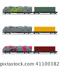 Three Types of Train 41100382