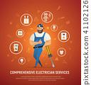 comprehensive electrician service 41102126