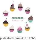 cake, cupcake, cupcakes 41103765