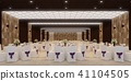 banquet hall 3d,rendering 41104505