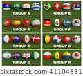 Football World cup  groups  2018  41104831