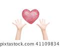 Heart hand 41109834