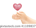 Heart hand 41109837