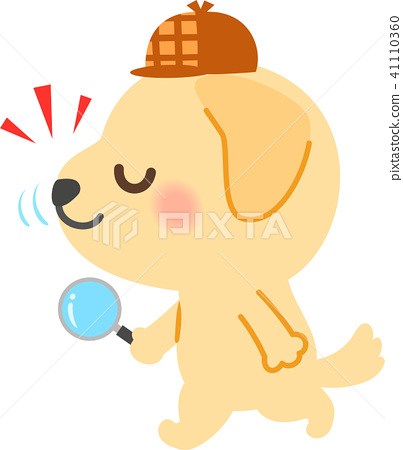 Dog chasing smell, detective 41110360
