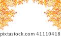 秋葉槭樹秋天背景 41110418