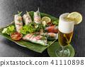 Raw spring roll Vietnamese food Vietnamese variety 41110898