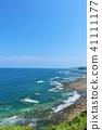 미야자키 현 푸른 하늘과 푸른 바다 41111177