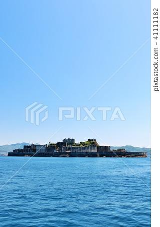 Nagasaki prefecture blue sky warship island 41111182