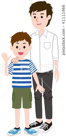 Parent and child men 41111966