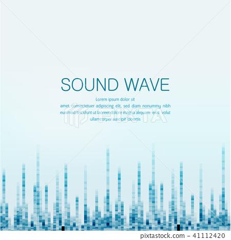 sound wave 41112420