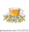 flower chamomile herb 41115532