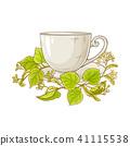 leaf, tea, herb 41115538