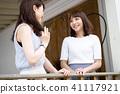 年轻女性旅行 41117921