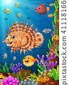 Illustration of under the sea  41118166