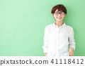 미들 여성 라이프 스타일 41118412
