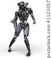 로봇, 메탈릭, 금속 41121057