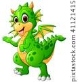 Cute baby dragon  41121415