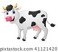 Cow cartoon  41121420