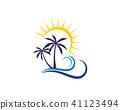 coconut, icon, palm 41123494