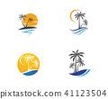 coconut, icon, palm 41123504